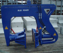 Rotating cofferdam gripper